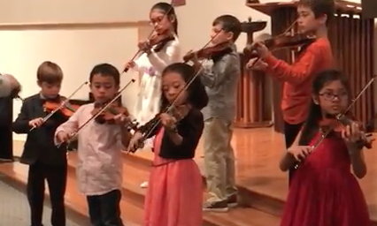 Violin Ensemble Recital 2018 – Cherry Hill NJ